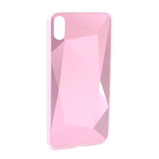 Futrola CRYSTAL COLOR za Iphone XS Max roze