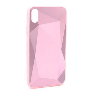 Futrola CRYSTAL COLOR za Iphone XR roze