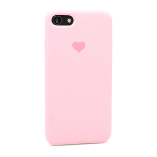 Futrola Heart za Iphone 7/Iphone 8 roze