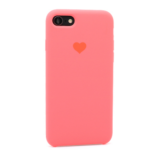 Futrola Heart za Iphone 7/Iphone 8 pink