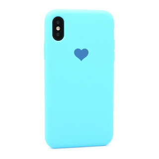 Futrola Heart za Iphone X/Iphone XS plava