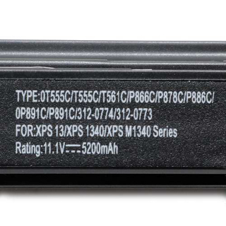 Baterija laptop Dell Studio XPS 13-6 11.1V-5200mAh P891C/1340