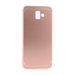 Futrola METAL za Samsung J610F Galaxy J6 Plus roze