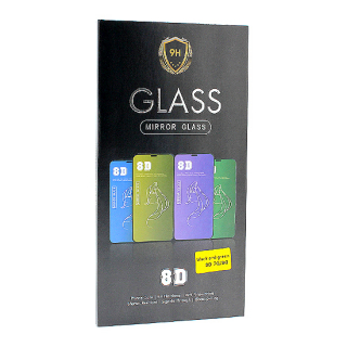 Folija za zastitu ekrana GLASS MIRROR 8D za Iphone X/Iphone XS zlatna