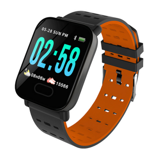 Smart Watch A6 crno-narandzasti