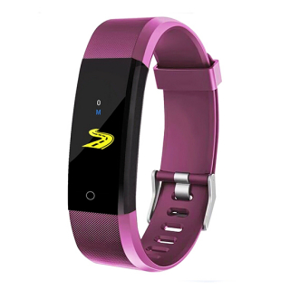 Smart Band ID115 plus ljubicasta