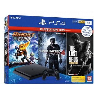 SONY PlayStation PS4 1TB+3 IGRE