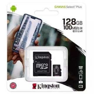 Kingston Canvas Select Plus (sdcs2/128gb) memorijska kartica micro SDXC 128GB class 10+adapter