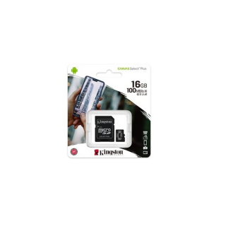Kingston Canvas Select Plus (sdcs2/16gb) memorijska kartica micro SDHC 16GB class 10+adapter