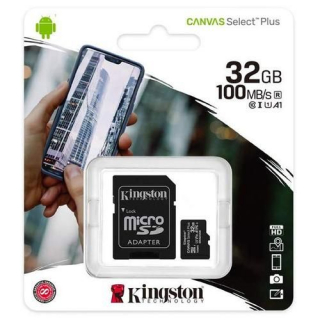 Kingston Canvas Select Plus (sdcs2/32gb) memorijska kartica micro SDHC 32GB class 10+adapter