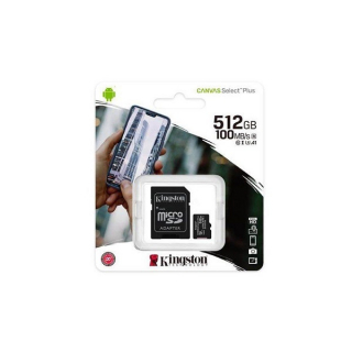 Kingston Canvas Select Plus (sdcs2/512gb) memorijska kartica micro SDXC 512GB class 10+adapter
