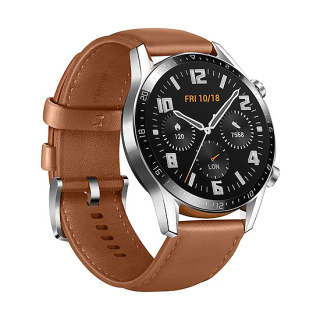 Huawei Watch GT 2 (Latona-B19V) srebrno-braon