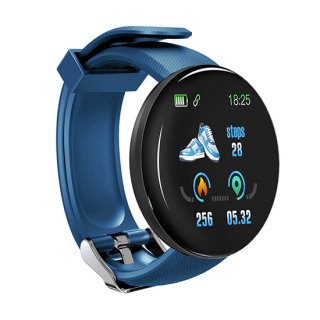 Smart Watch (bracelet) D18 plavi