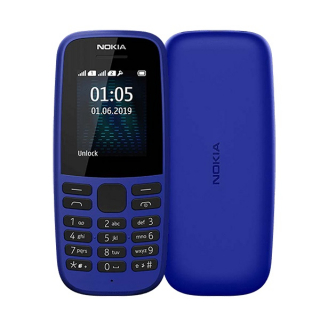 NOKIA 105 2019 DS Blue