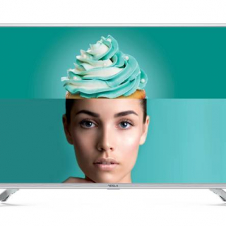 Tesla TV 32T303SHS, 32 TV LED, slim DLED, DVB-T/T2/C, HD Ready, Linux Smart, WiFi, silver