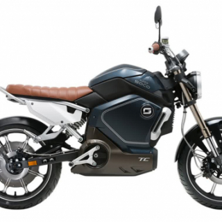 Super Soco TC Electric Motorcycle Blue