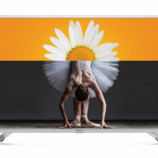 Tesla TV 32T303SH, 32 TV LED, slim DLED, DVB-T/T2/C, HD Ready, silver