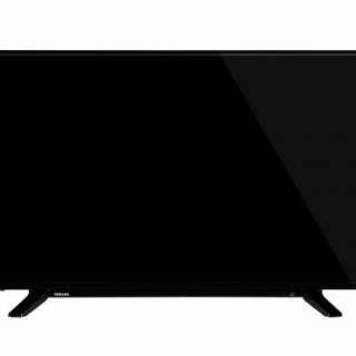 Toshiba 43UA2063DG LED TV 43 Ultra HD, ANDROID TV, DVB-T2/C/S2, black, two pole stand