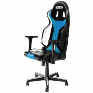 GRIP Gaming/office chair Black/Light Blue Sky