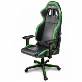 ICON Gaming/office chair Black/Fluo Green