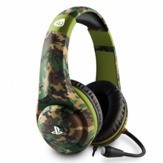 PS4 Camo Edition Stereo Gaming Headset - Woodland