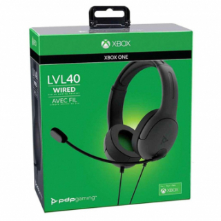 XBOXONE Wired Headset LVL40 Black