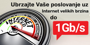 Internet velikih brzina do 100 Mb/s
